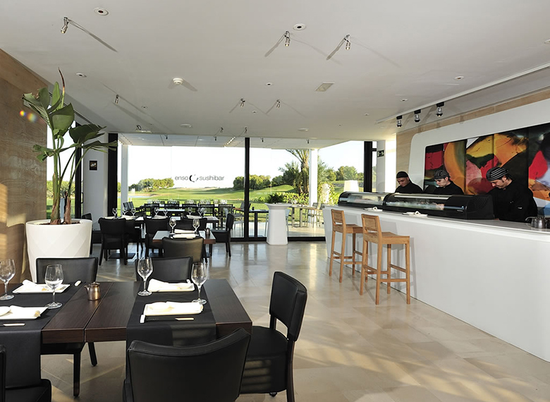 Enso sushi bar 01 Las Colinas Golf and Country Club