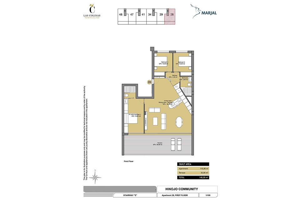 hinojo apartments 03 Las Colinas