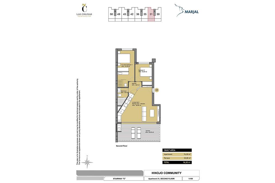 hinojo apartments 06 Las Colinas
