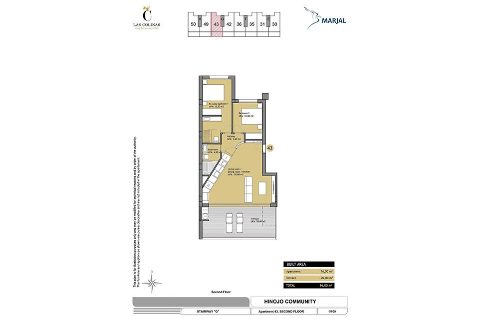 hinojo apartments 18 Las Colinas
