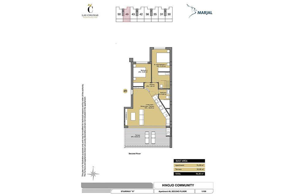 hinojo apartments 24 Las Colinas