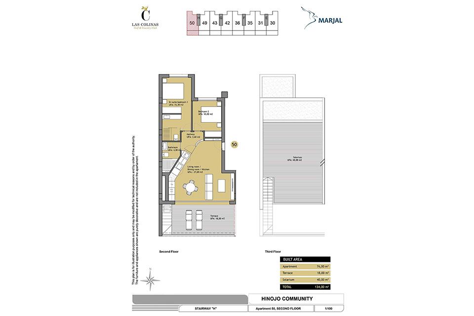 hinojo apartments 25 Las Colinas