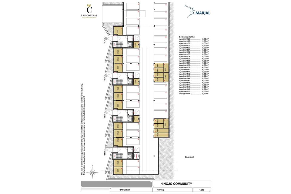 hinojo apartments 26 Las Colinas
